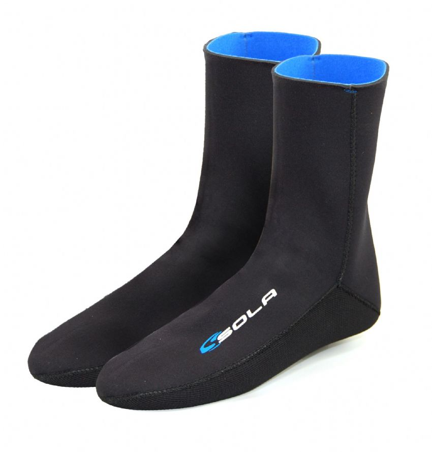 SOLA 4MM FLEECE LINED NEOPRENE SOCK